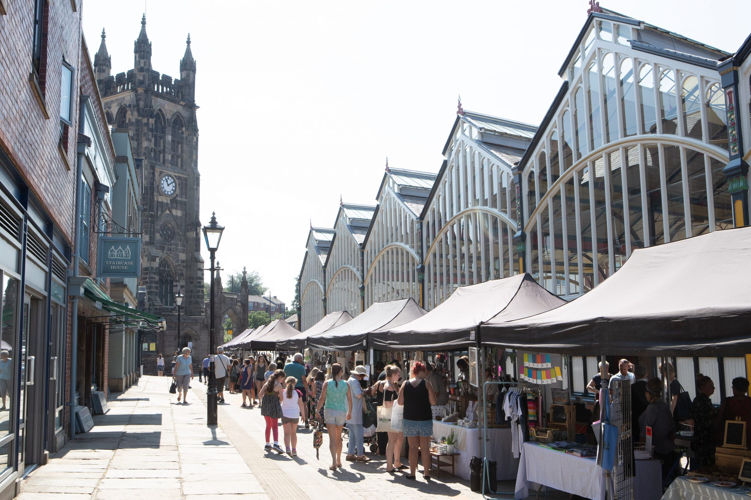 Stockport, Makers Market, Town centre, Marketplace