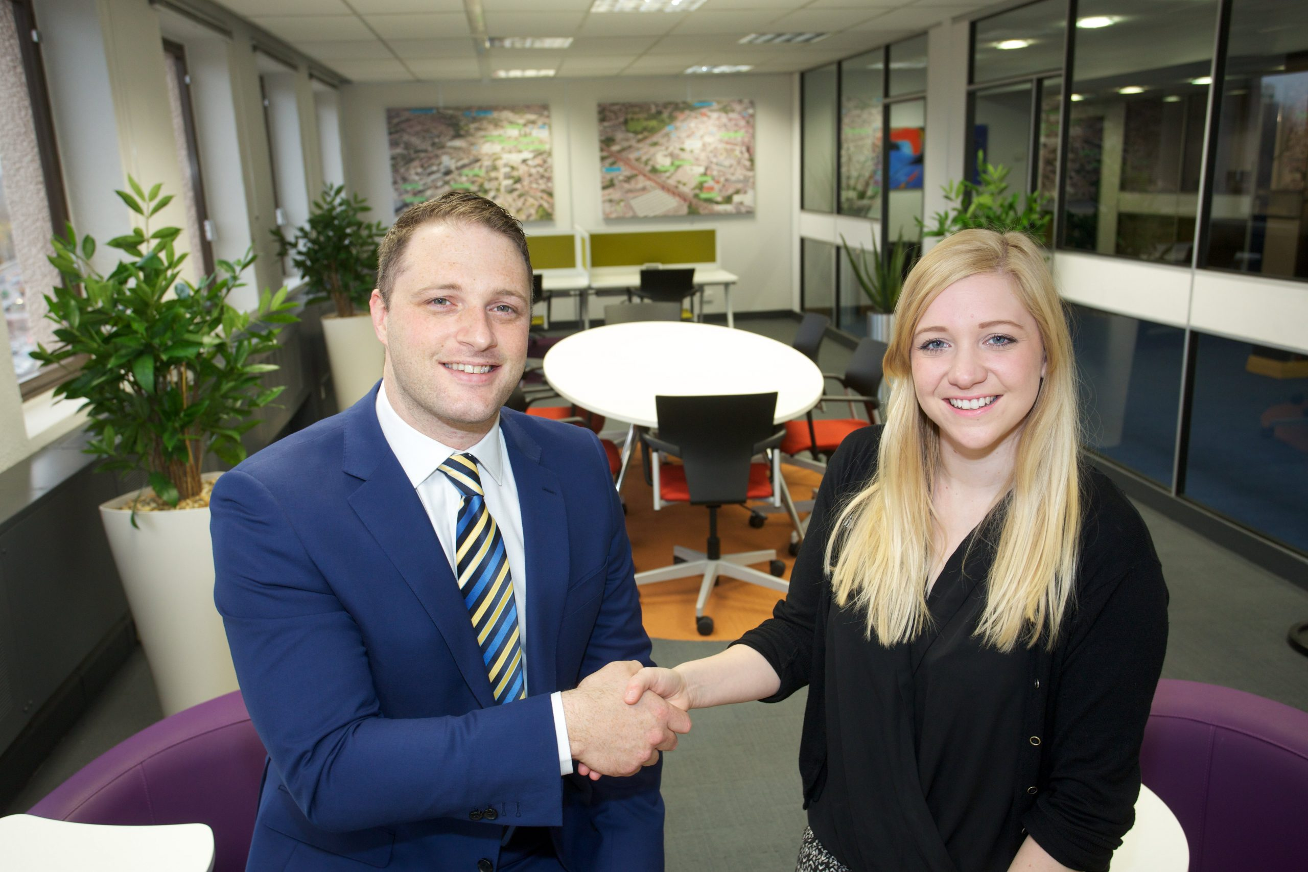 Rick Yates, Director of Sales at Distology and Orbit Developments Marketing Manager Claire Stott