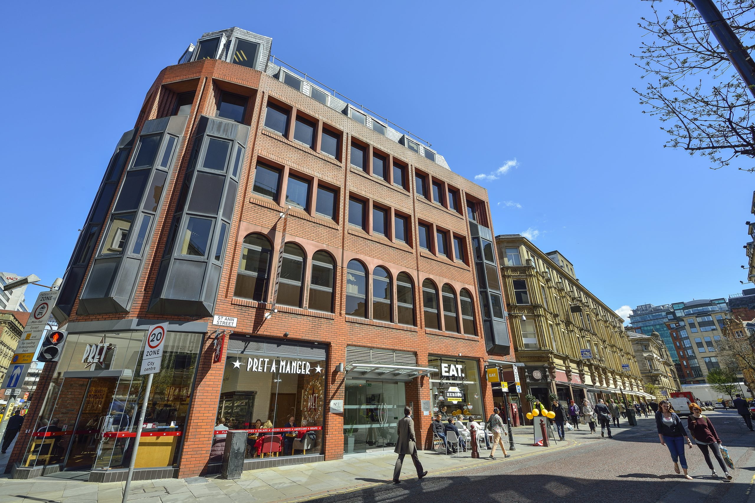 No 1 St Anns, Manchester offices