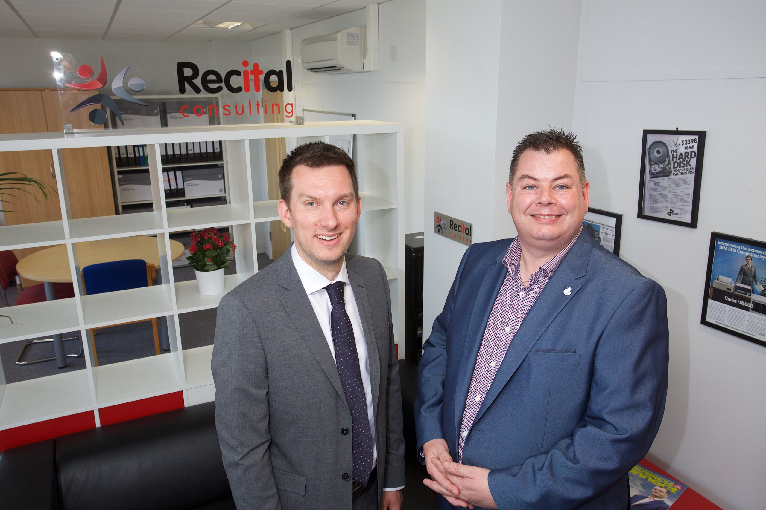 Rhys Owen, Leasing Surveyor at Orbit Developments and Allan Wroe, Managing Director of Recital Consulting