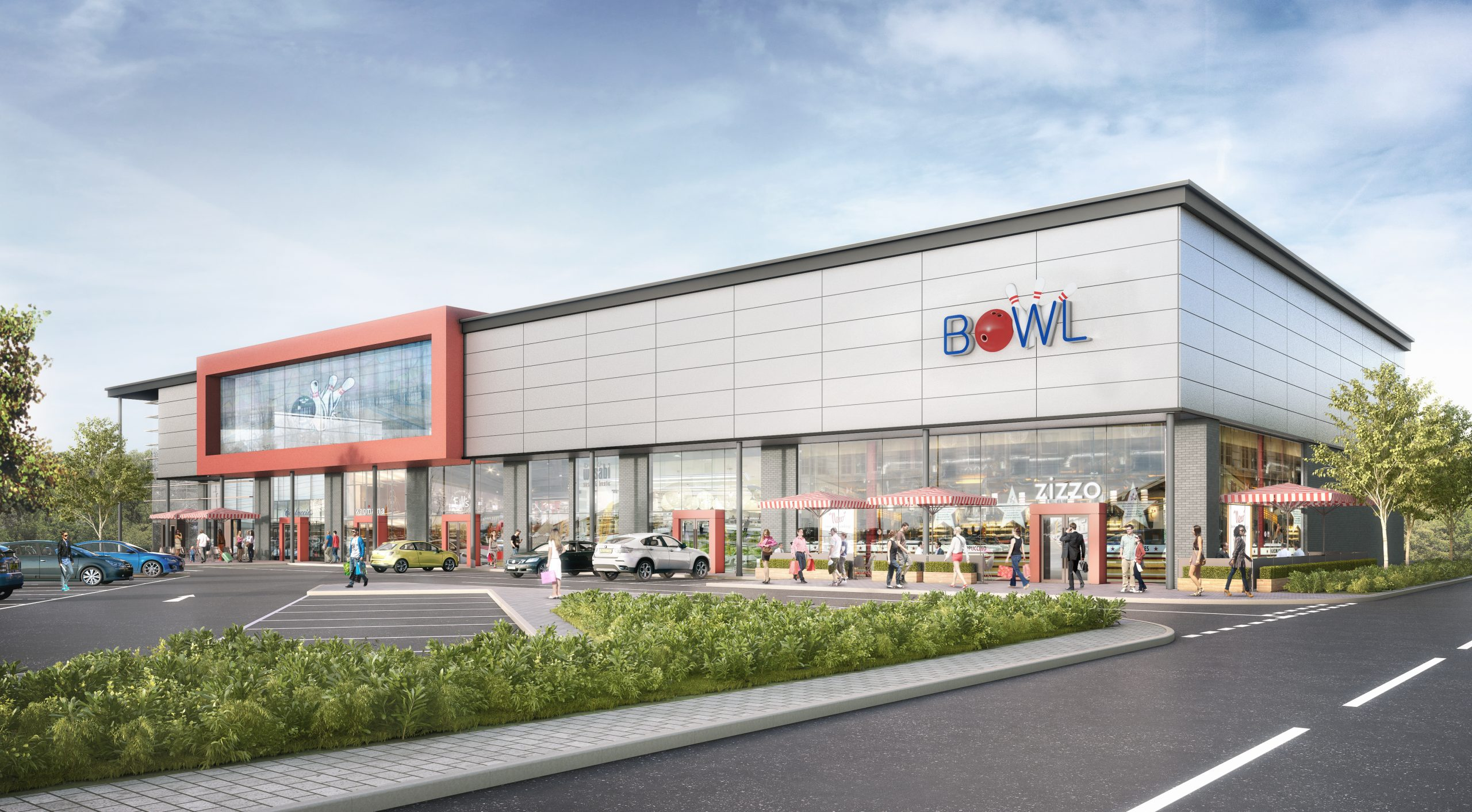 Linkway West Superbowl UK Artists CGI Impression