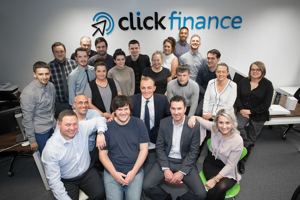The Click Finance team in Regent House