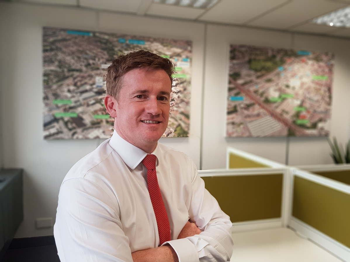 Nigel Bailey from Wrightsure Insurance Group who is based in Stockport's Regent House