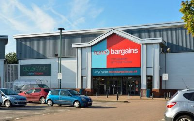Home Bargains signs at our Middlebrook suite